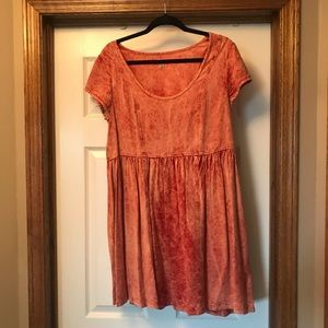 Urban Outfitters Hand Dye Dress
